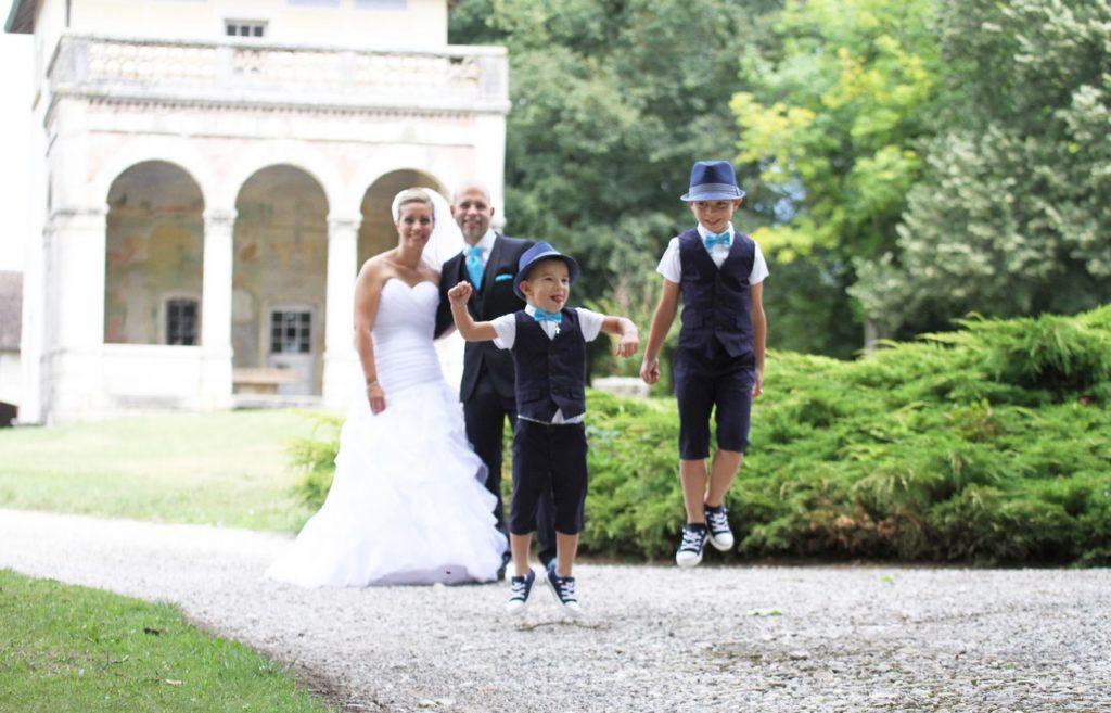 mariage et enfants Photographe Nord Isère
